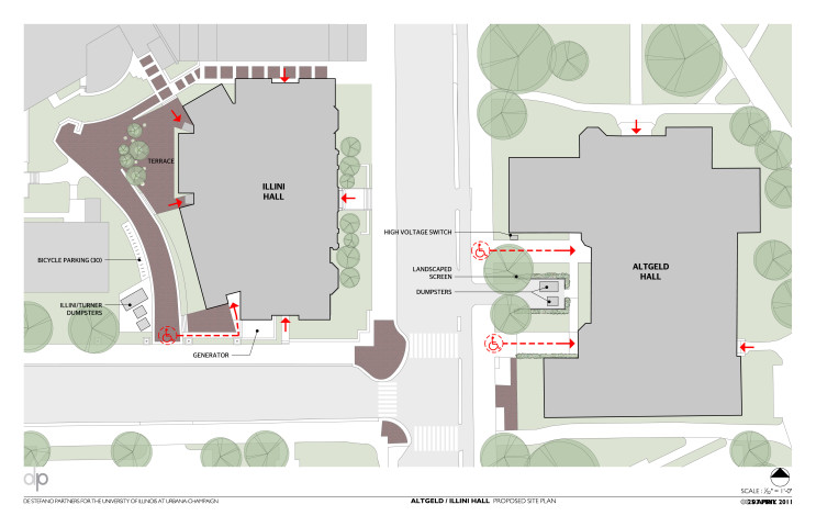 U:Institutional2952 AltgeldDesignA-SP-ALT-ILL-1 Site Plan (1