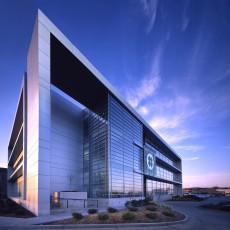 Central Technology Services exterior night